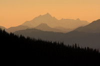 Sunset View from Manning Provincial Park